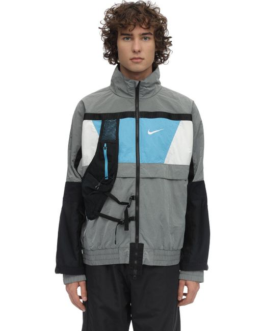 メンズ Nike Ispa Nrg テクニカルフードジャケット Gray