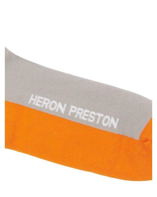 メンズ Heron Preston Heron コットンブレンドソックス Multicolor