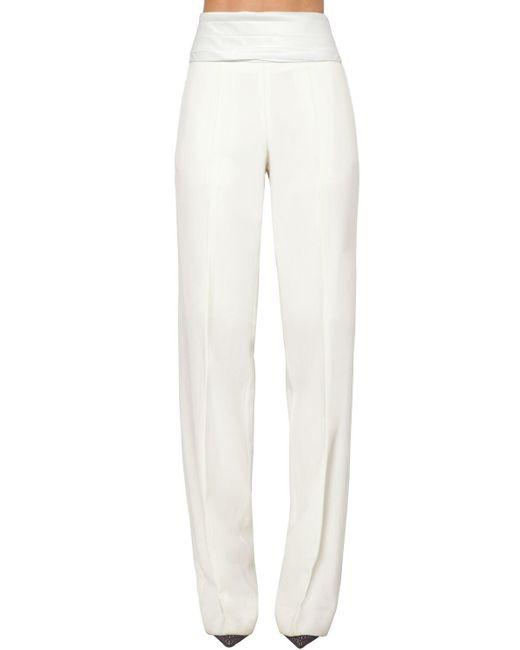Victoria Beckham ウールパンツ White