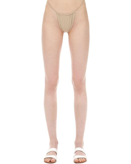 Slip Bikini In Nylon E Lycra di AEXAE in Multicolor