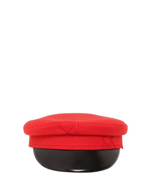 Ruslan Baginskiy Baker Boy ウール帽 Red