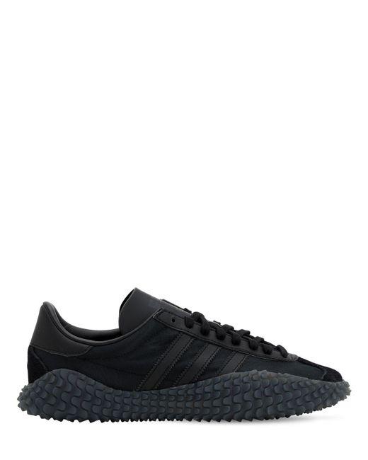メンズ Adidas Originals Country X Kamanda スニーカー Black
