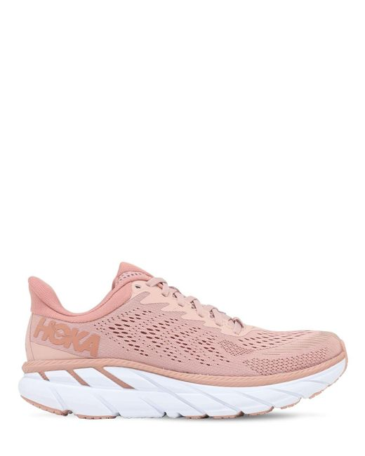 Hoka One One Clifton 7 Running スニーカー Pink