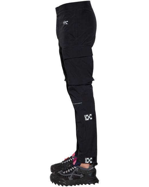 Брюки-шорты Карго Off-White c/o Virgil Abloh для него, цвет: Black