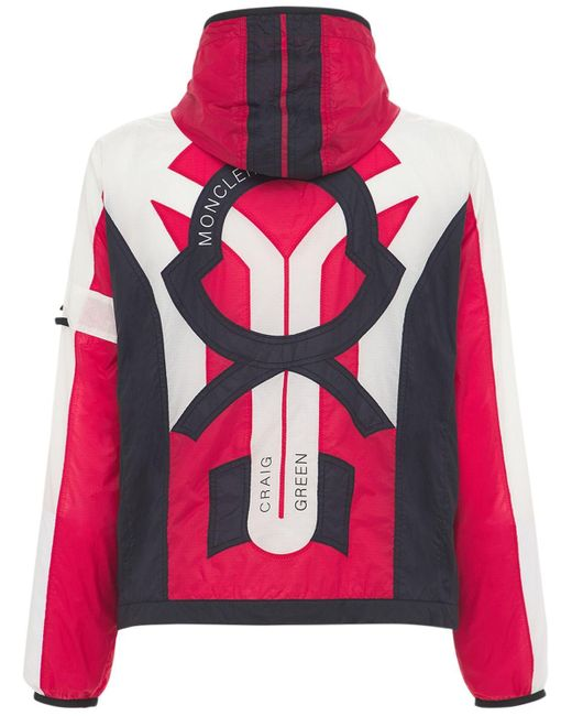 Куртка Из Нейлона Craig Green Clonophis Moncler Genius для него, цвет: Multicolor