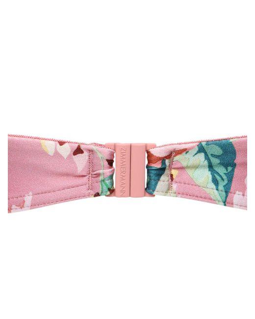 Zimmermann Bellitude ビキニ Pink