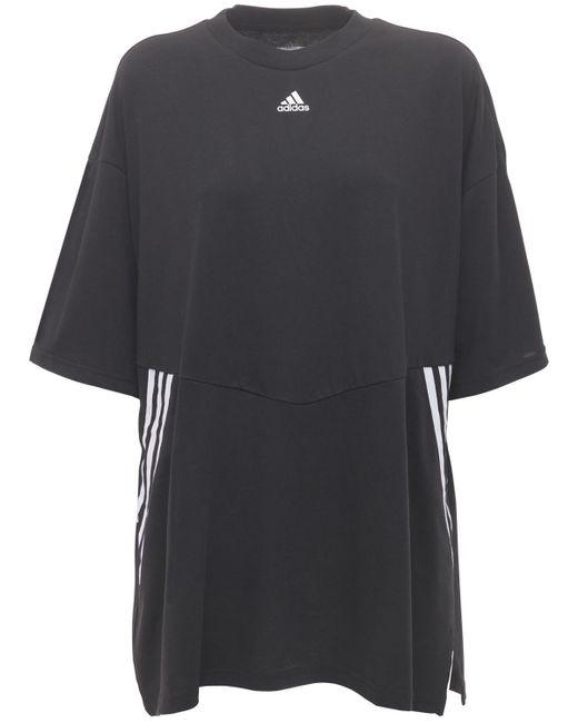 Adidas Originals オーバーサイズtシャツ Black