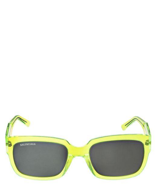 Balenciaga Dフレームアセテートサングラス Yellow