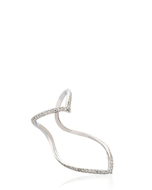 Seeme - Multicolor Wrap Heart Ring - Lyst