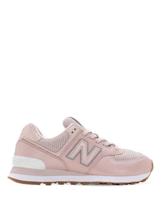 New Balance 574スニーカー Pink