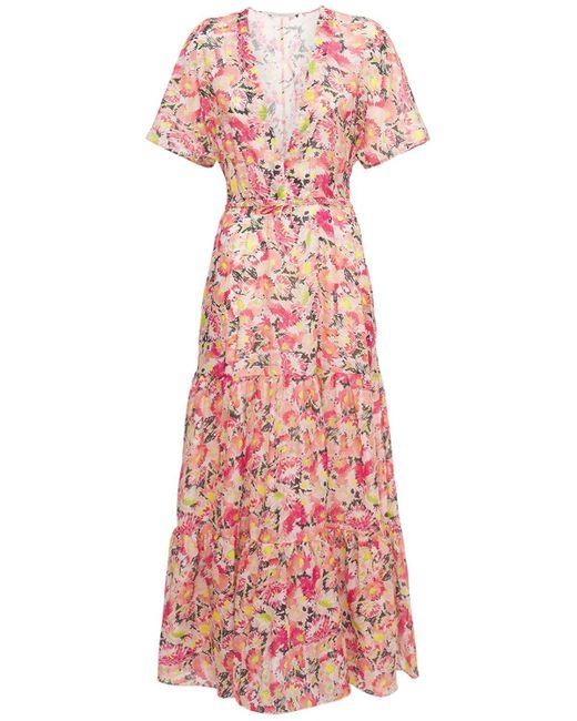 Stella McCartney Floral コットンボイルドレス Pink