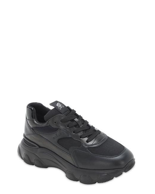 Кроссовки Из Сетки Меш И Кожи H540 Hogan, цвет: Black
