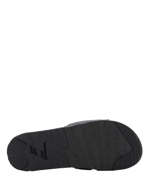 Nike Air Max 90 Slide Black White 45 für Herren