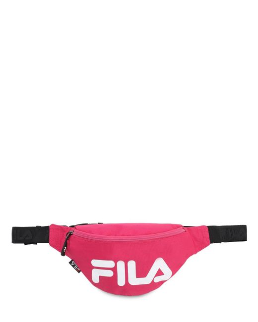 Fila ロゴ ベルトバッグ Pink