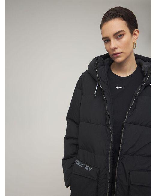 Nike Jordan ダウンパーカ Black