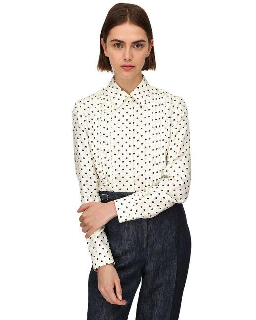 Gabriela Hearst Lvr Sustainable ツイルシャツ White