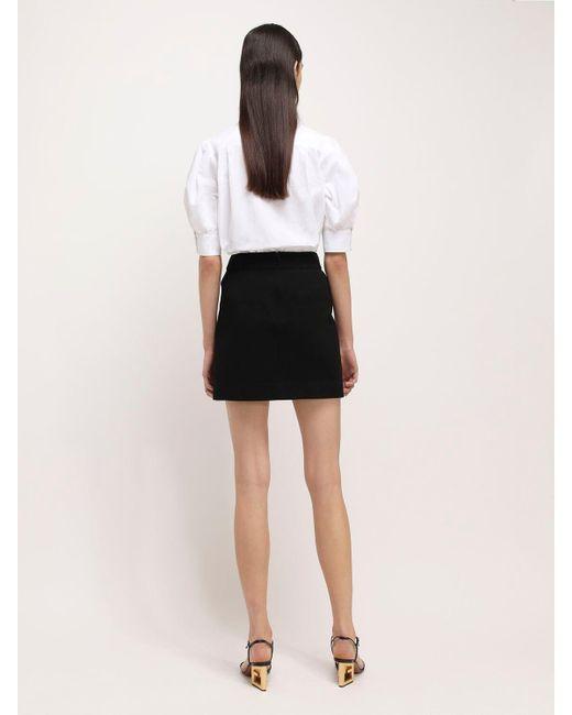 Givenchy ストレッチミニスカート Black