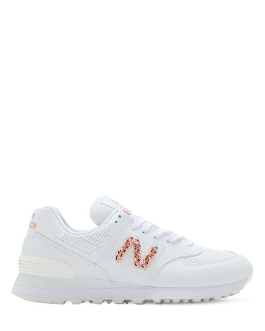 New Balance 574スニーカー White