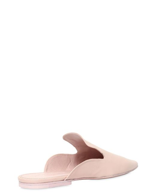 Jil Sander 10MM LEATHER MULES Get The Cheapest Cheap Price D4EzV