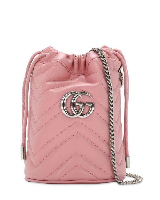 "Сумка ""gg Marmont 2.0"" Gucci, цвет: Pink"