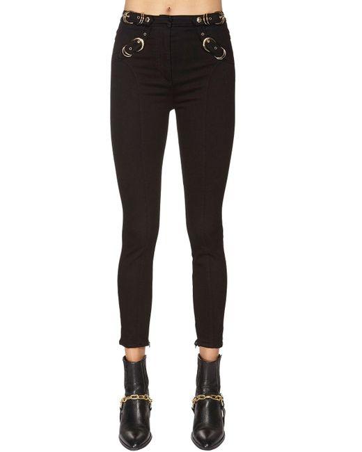 Versace Jeans コットンデニムジーンズ Black