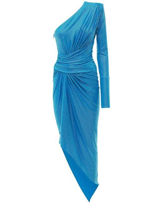 Alexandre Vauthier ジャージードレス Blue