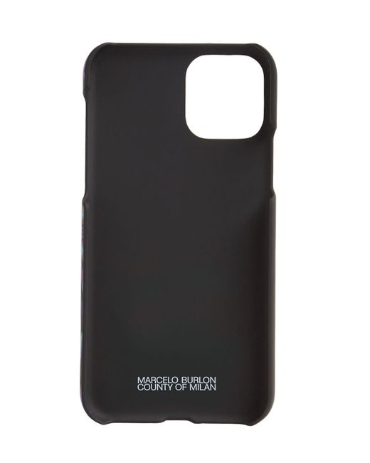 メンズ Marcelo Burlon Iphone 11pro ケース Black