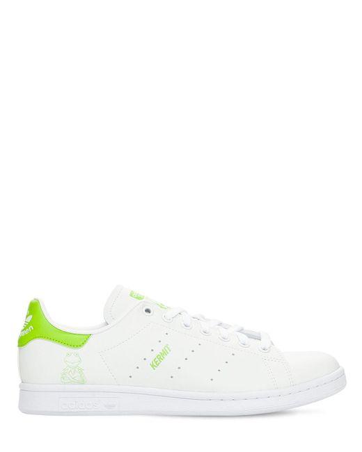 """Sneakers En Primegreen """"kermit Stan Smith"""" Adidas Originals pour homme en coloris White"""