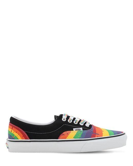 Chaussures Rainbow Drip Era Vans en coloris Noir - 35 % de ...