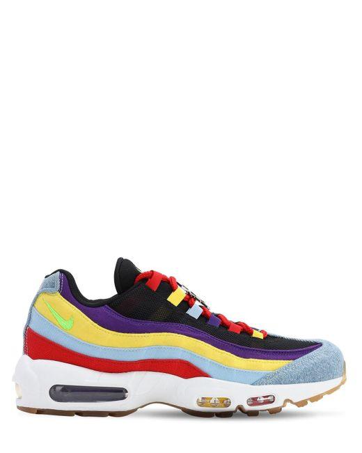 Nike Blue Air Max 95 Sp Sneakers