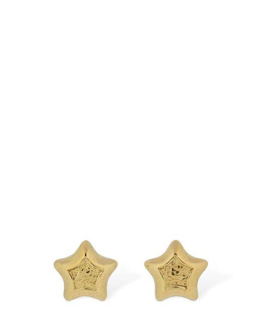 Bottega Veneta Star スタッドピアス Metallic