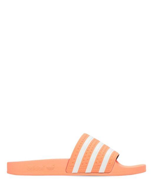 Adidas Originals Adilette スライドサンダル Orange