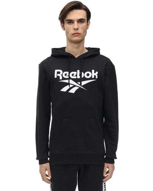 メンズ Reebok Cl F Vector ジャージースウェットフーディー Black