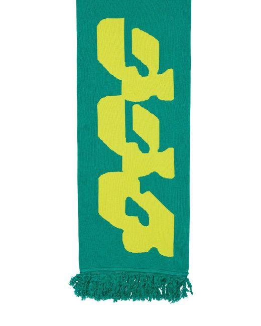 Шарф Из Смесового Хлопка Off-White c/o Virgil Abloh для него, цвет: Green