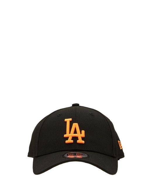 メンズ KTZ Neon Pack La Dodgers 9forty キャップ Black
