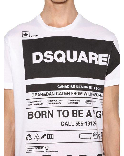 メンズ DSquared² Cool Guyコットンジャージーtシャツ Multicolor