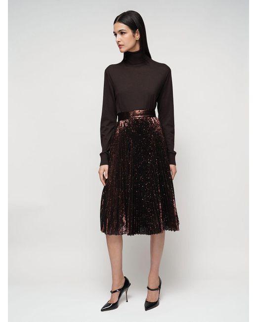 Трикотажный Свитер Из Кашемира Dolce & Gabbana, цвет: Black