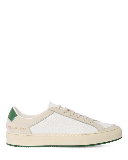 Common Projects Retro Low 70s レザースニーカー 20mm Multicolor