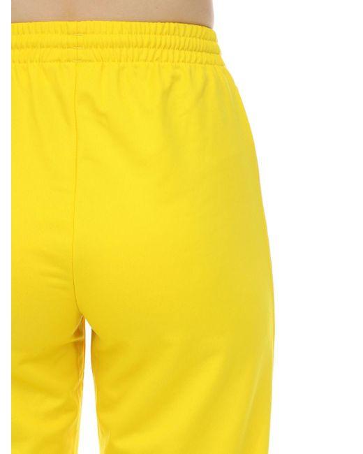 great deals look good shoes sale wholesale online adidas Originals Firebird Tt Jersey Sweat Pants in Yellow - Lyst