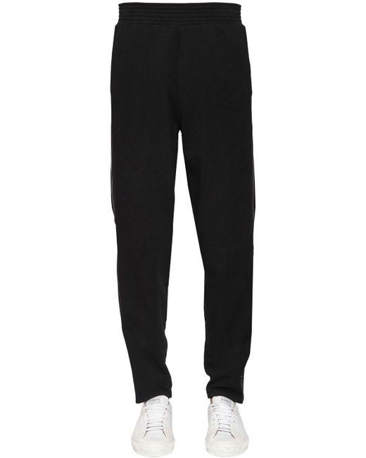 メンズ Givenchy コットントラックパンツ Black