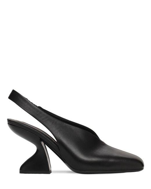 Кожаные Туфли Sloane 85mm Ferragamo, цвет: Black