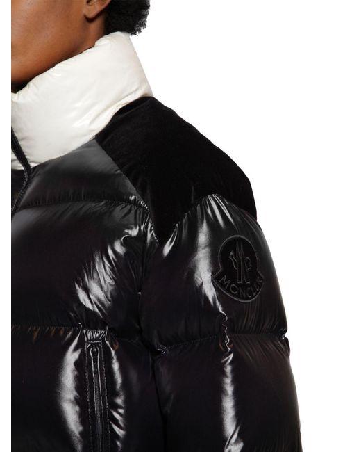 Moncler ブラック ダウン Chouelle ジャケット Black