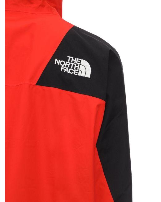 メンズ The North Face レッド And ブラック ダウン 1996 レトロ ヌプシ ジャケット Red