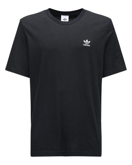 Adidas Originals Essential コットンtシャツ Black
