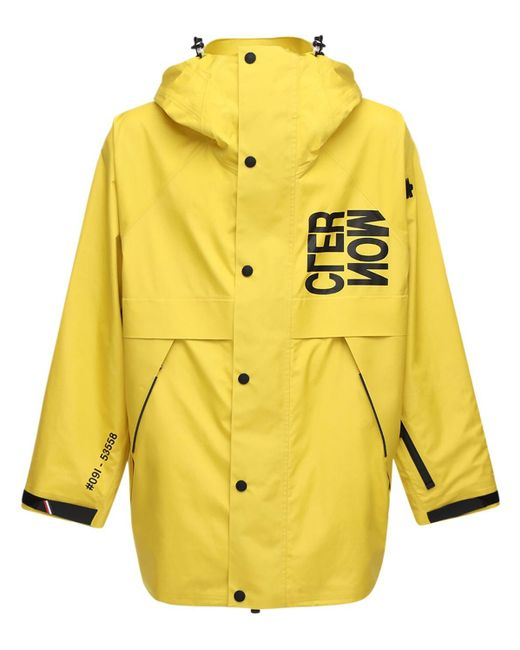 Пальто Из Нейлона Grenoble Verdonne Moncler Genius для него, цвет: Yellow