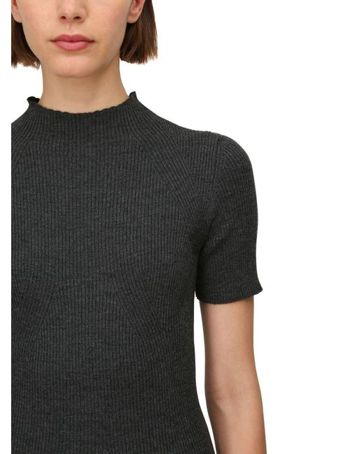 Gabriela Hearst Lvr Sustainable ウール リブニットドレス Gray