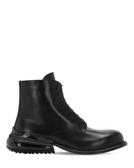 Высокие Ботинки На Шнуровке Maison Margiela для него, цвет: Black