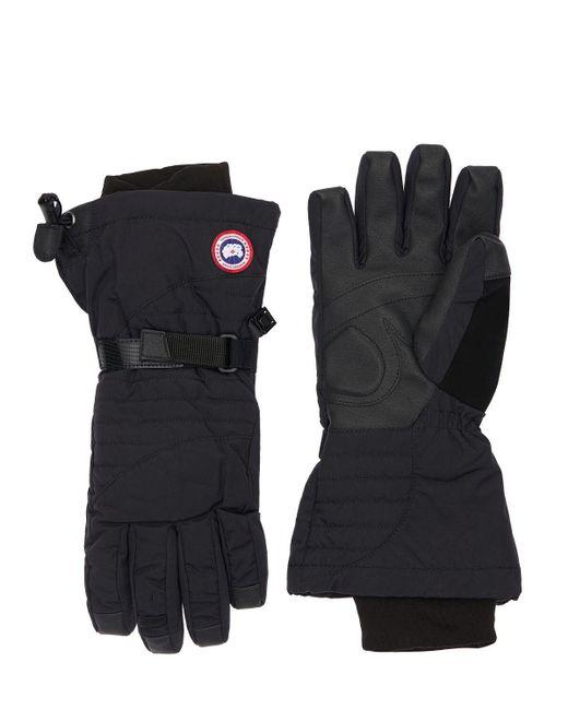 Перчатки На Пуху Canada Goose, цвет: Black