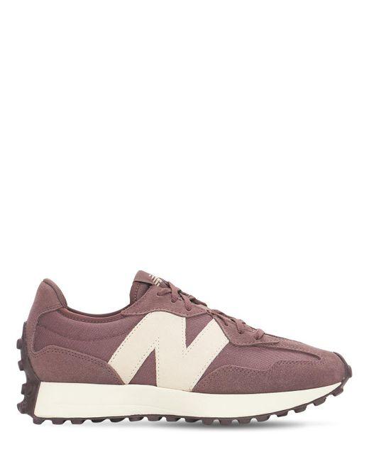 New Balance Multicolor 327 Suede & Mesh Sneakers