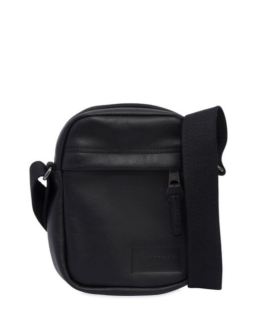 Eastpak - Black The One Leather Crossbody Bag for Men - Lyst
